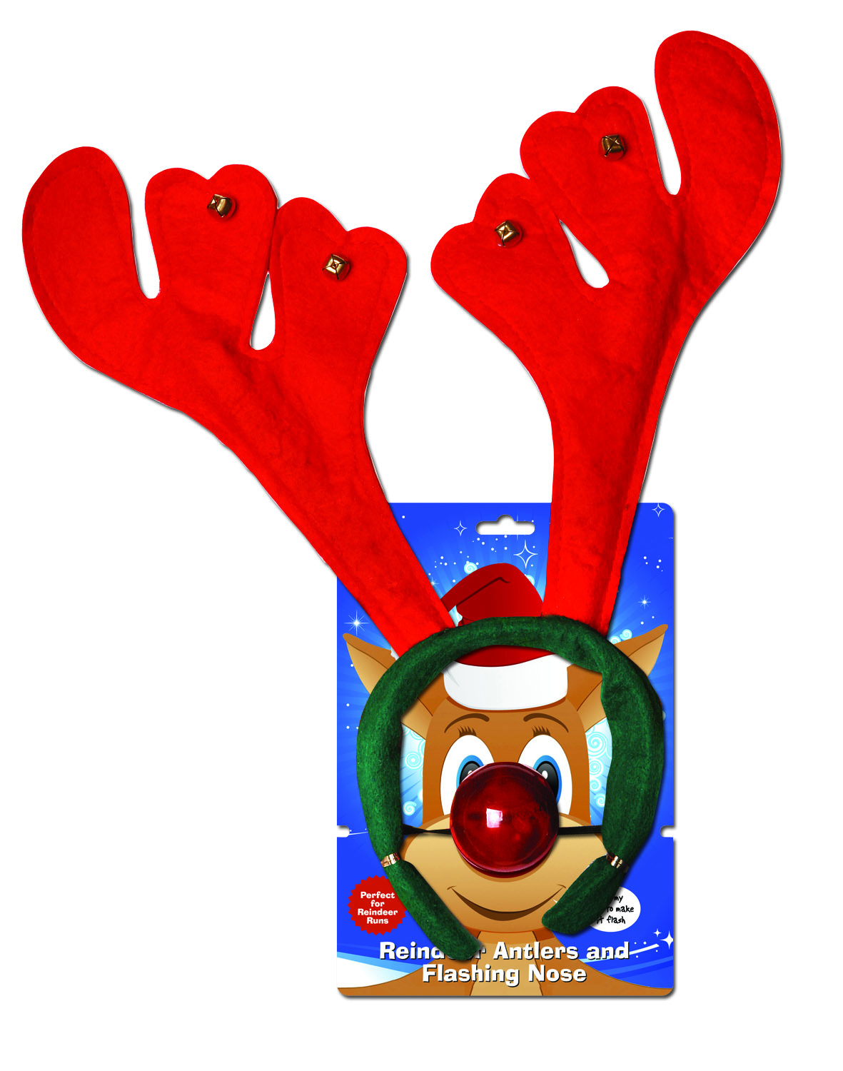 Flashing reindeer clipart banner royalty free download Santa & Reindeer Runs - Care Fundraising Supplies banner royalty free download