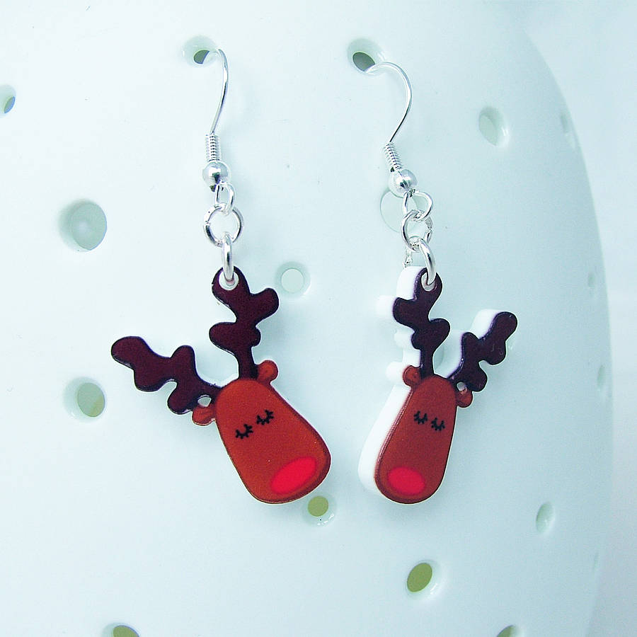Flashing reindeer clipart picture royalty free download christmas earrings uk - 1000+ Earrings Ideas picture royalty free download