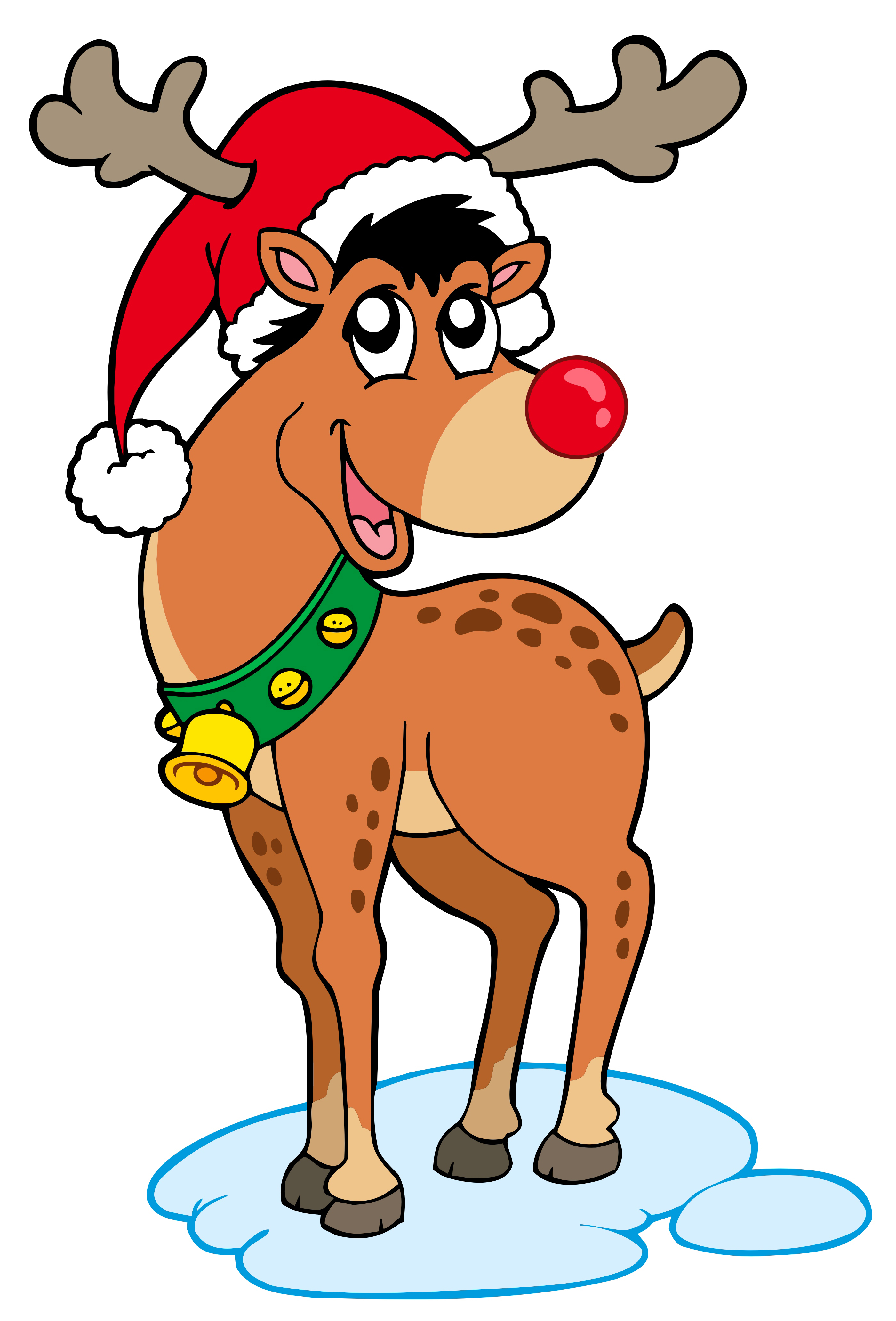 Flashing reindeer clipart clipart freeuse stock Santa Saves Christmas (a festive story) | Almost an opinion clipart freeuse stock