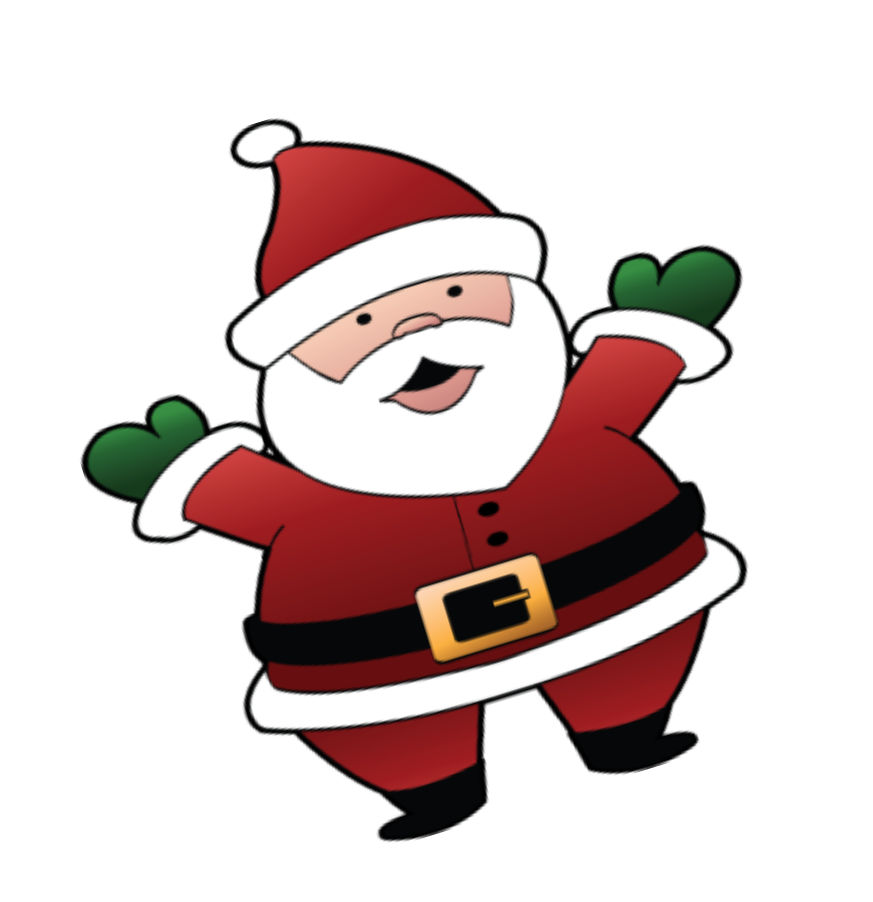 Christmas coal clipart vector library download Animated Santa Clipart Group (50+) vector library download