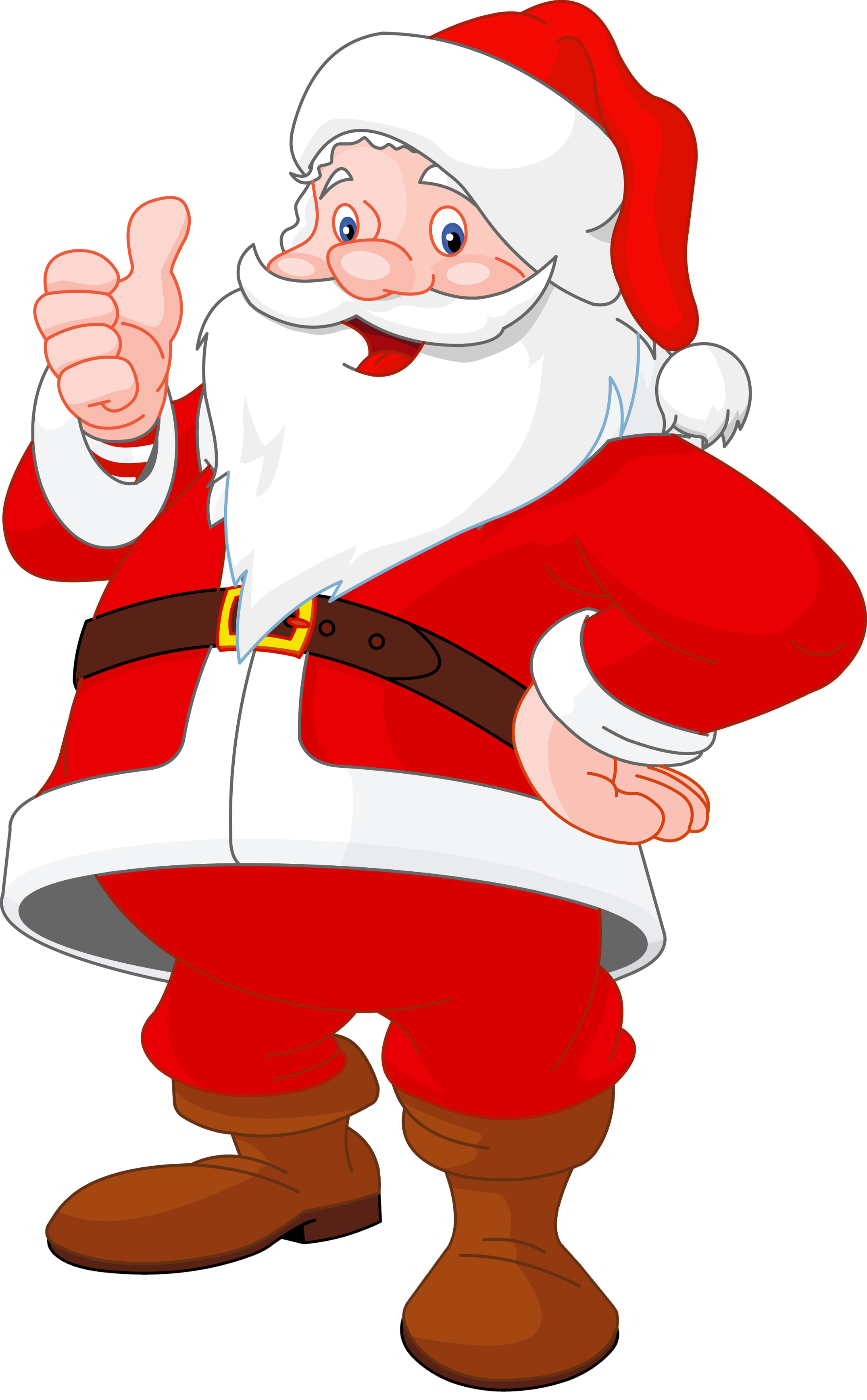 Santa claus list clipart picture black and white library Animated Santa Clipart Group (50+) picture black and white library