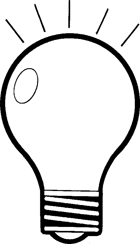 Led light bulb clipart black and white graphic freeuse Flashlight Clipart Free | Free download best Flashlight Clipart Free ... graphic freeuse
