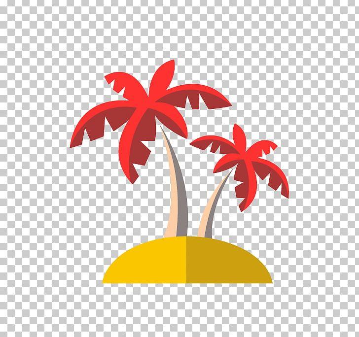 Design arecaceae png art. Flat can clipart