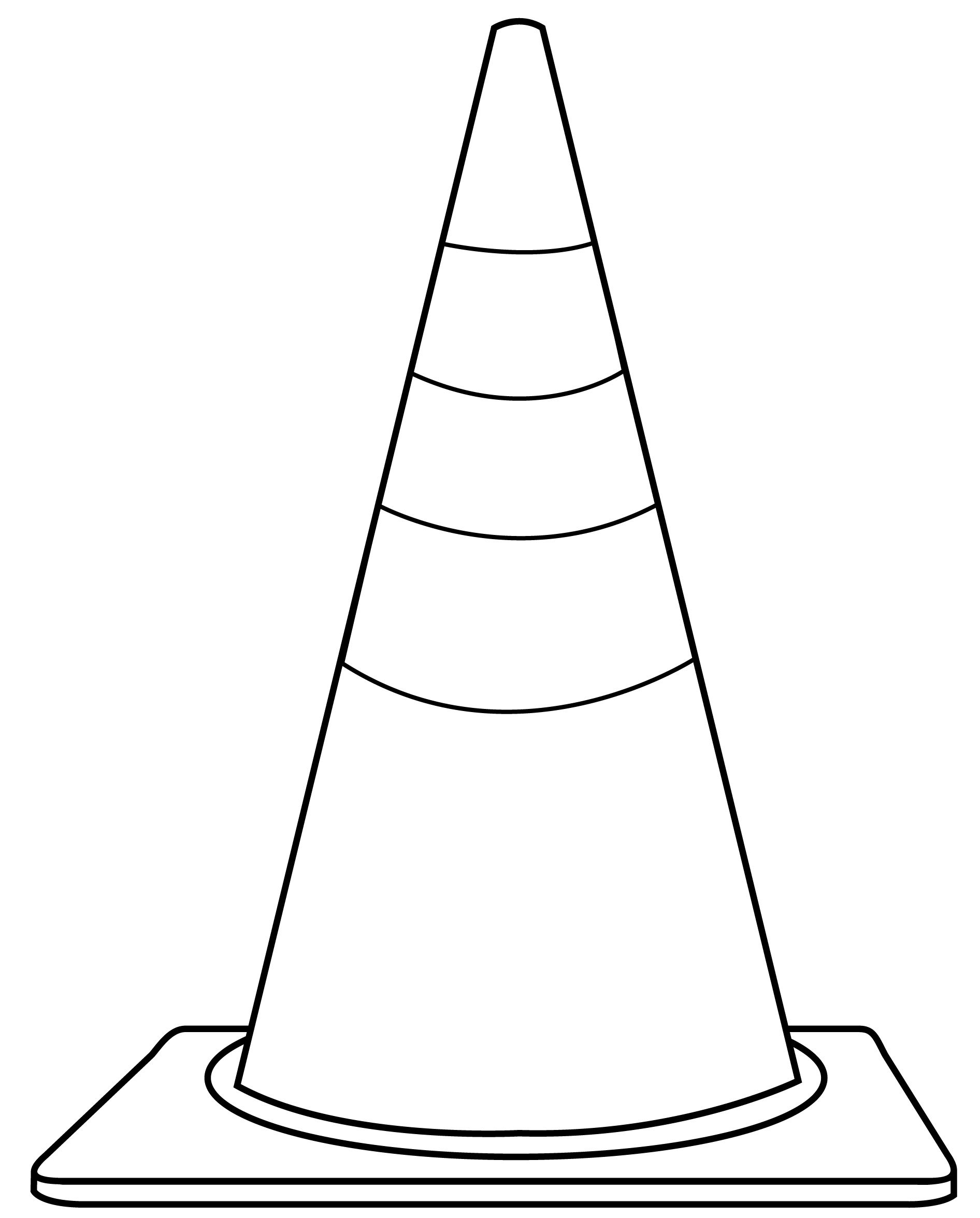 Free shape cliparts download. Flat trianle cone black and white clipart