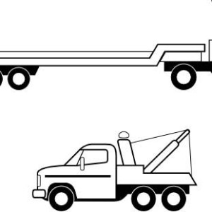 Tractor trailer flatbed clipart jpg freeuse download Flatbed Truck Clipart | Free download best Flatbed Truck Clipart on ... jpg freeuse download