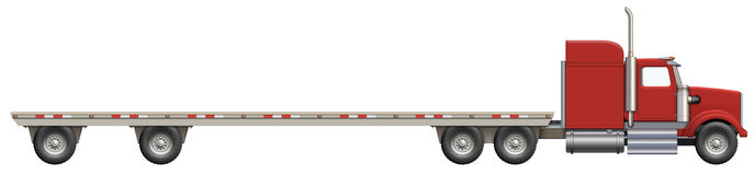 Flatbed trailer clipart picture Free Tractor Truck Cliparts, Download Free Clip Art, Free Clip Art ... picture