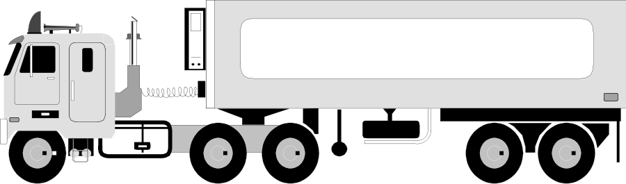 Flatbed trailer clipart svg Free Tractor- Trailer Cliparts, Download Free Clip Art, Free Clip ... svg