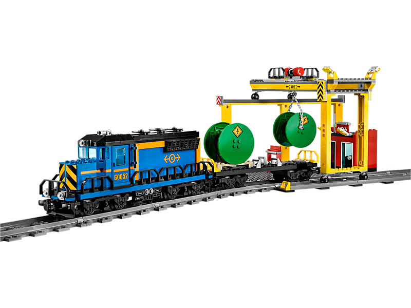 Flatbed train car clipart transparent library Cargo Train - Kiddiwinks Online LEGO Shop transparent library
