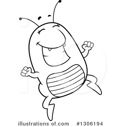Flea clipart black and white graphic royalty free stock Flea Clipart #1306194 - Illustration by Cory Thoman graphic royalty free stock