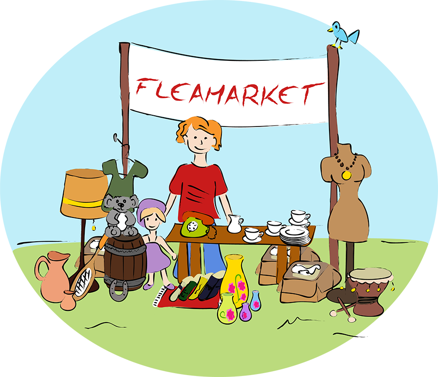 Flea market clipart images png free download Flea Market clipart – West Geauga After Prom png free download