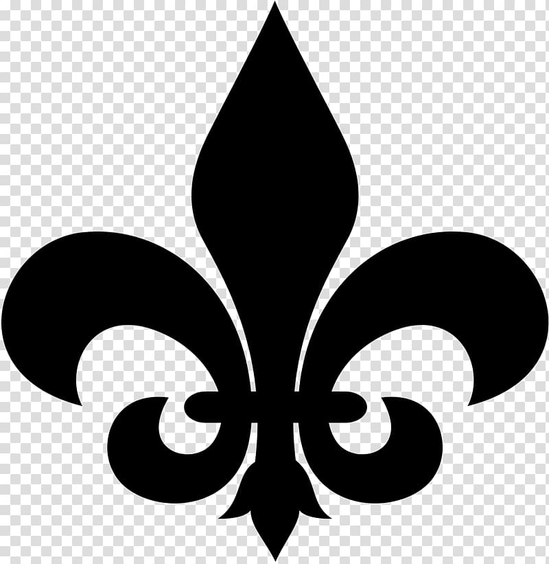Fleur-de-lis pattern clipart picture royalty free Fleur-de-lis Stencil Earring , fleur-de-lys transparent background ... picture royalty free