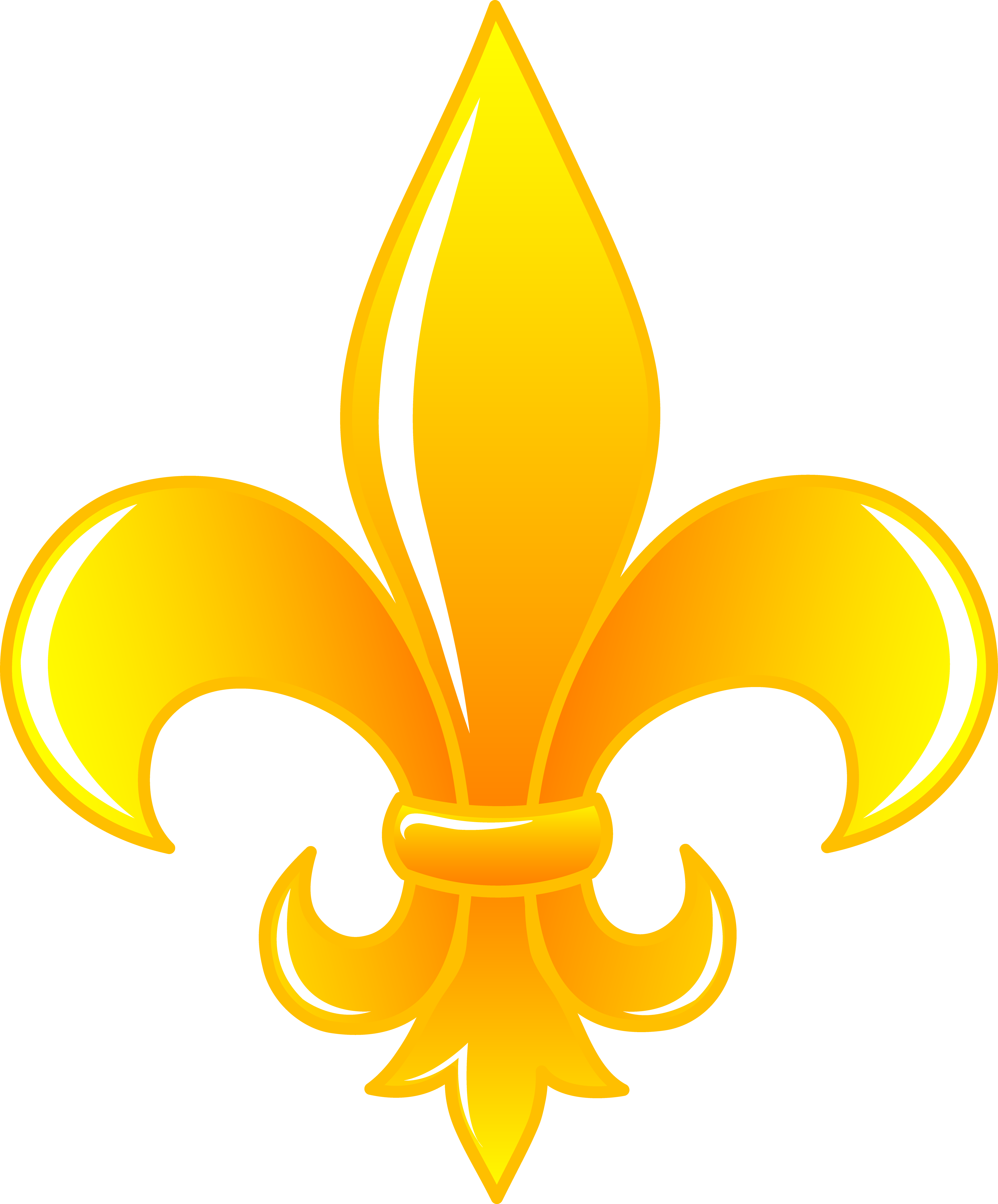Fleur de lis crown clipart black and white vector stock painting+fleur+de+lis | Shiny Golden Fleur De Lis - Free Clip Art ... vector stock