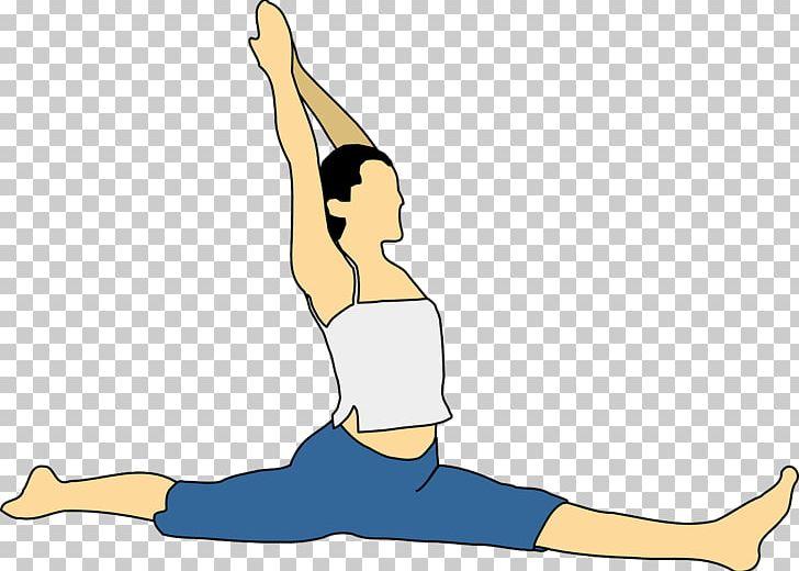 Flexibility clipart. Yoga stretching asana png