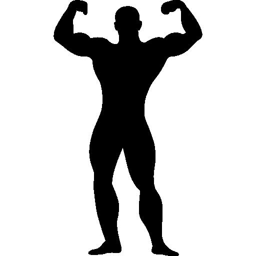 Free flex muscle cliparts. Flexing clipart