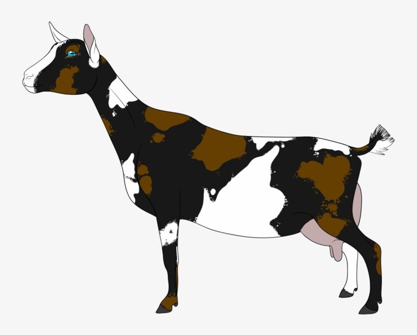 Flexing goat clipart. Nigerian dwarf by sharon