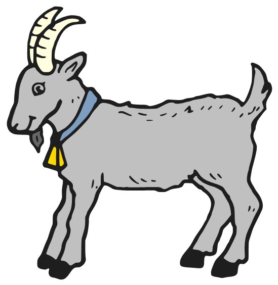 Cartoon images gallery for. Flexing goat clipart