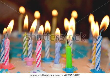 Flickering birthday candle clipart banner black and white download Flickering Candle Stock Photos, Royalty-Free Images & Vectors ... banner black and white download