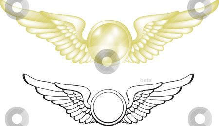 Flight wings clipart svg library download Airline Wings Logo - LogoDix svg library download