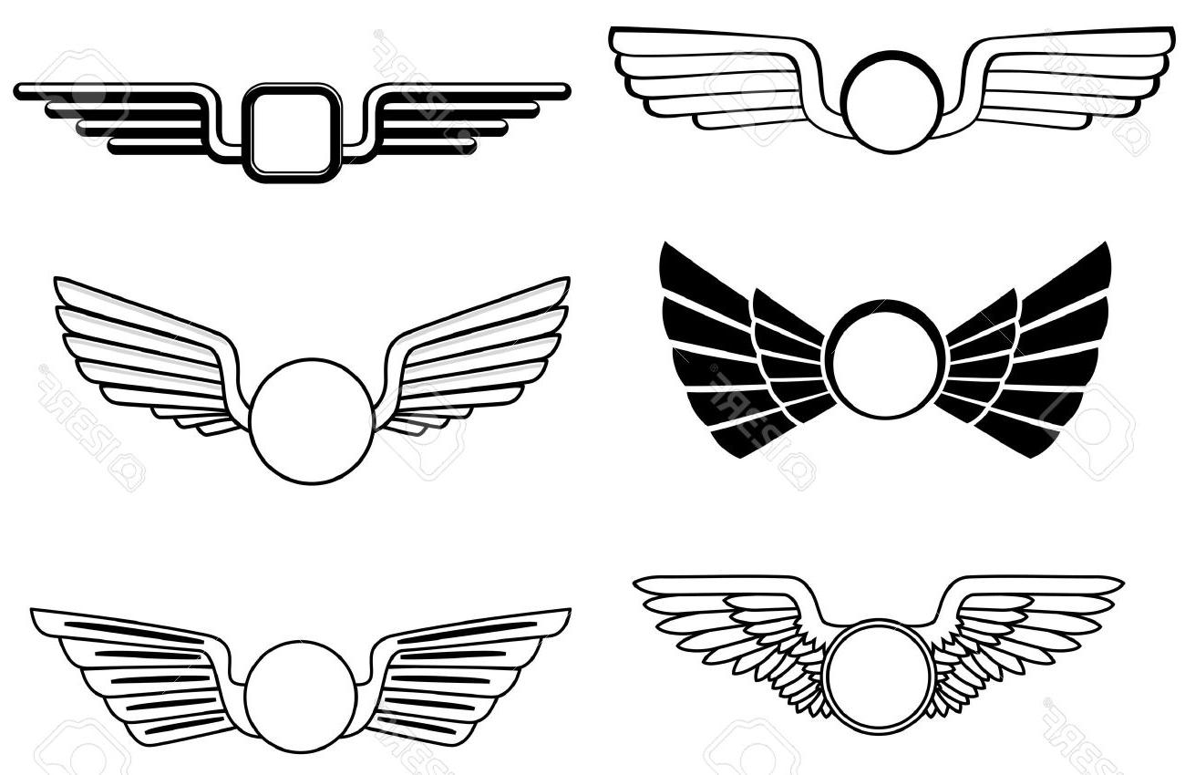 Flight wings clipart. Top us military flying