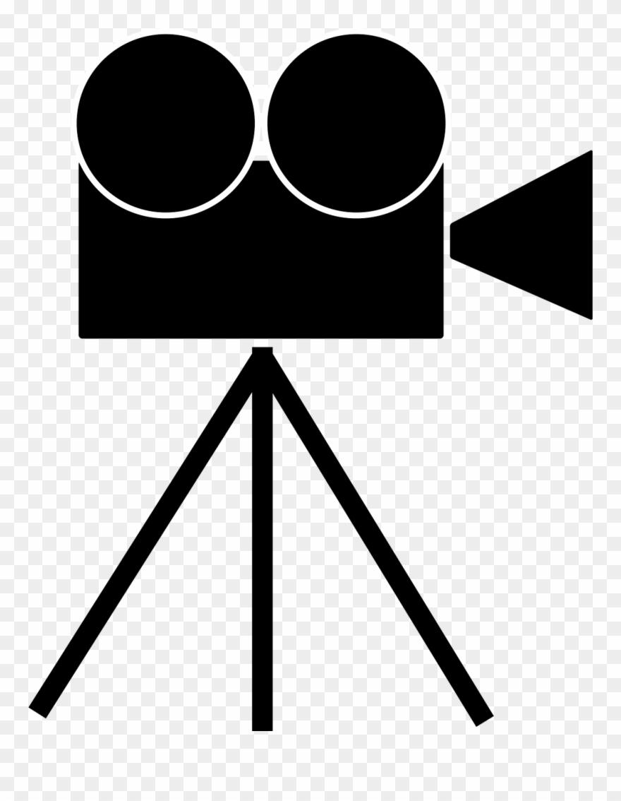 Fliminh clipart png free Video Camera Filming Media - Camera De Filmagem Png Clipart (#893279 ... png free