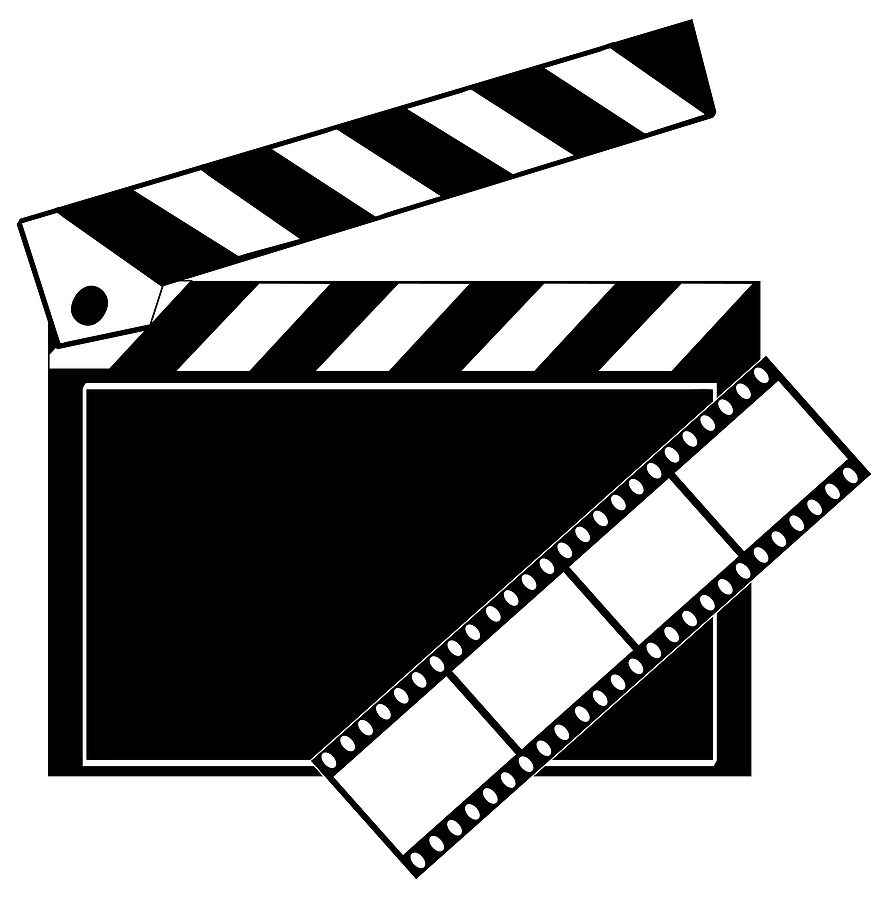Movie roll clipart picture black and white Free Film Reel Cliparts, Download Free Clip Art, Free Clip Art on ... picture black and white