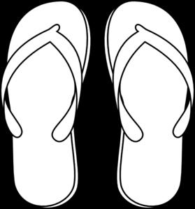 Flip clipart image online picture freeuse download Flip flops clip art at vector clip art online royalty image #6641 picture freeuse download