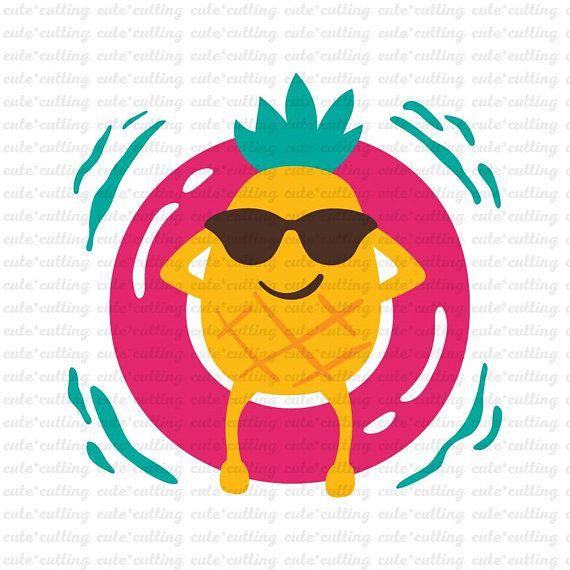 Float trip clipart svg stock Pineapple svg, Float svg , Summer svg, Travel svg, Vacation svg ... svg stock