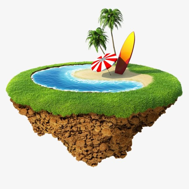 Floating island clipart hd clipart royalty free stock Floating Island, Island Clipart, Sandy Beach, Seaside PNG ... clipart royalty free stock