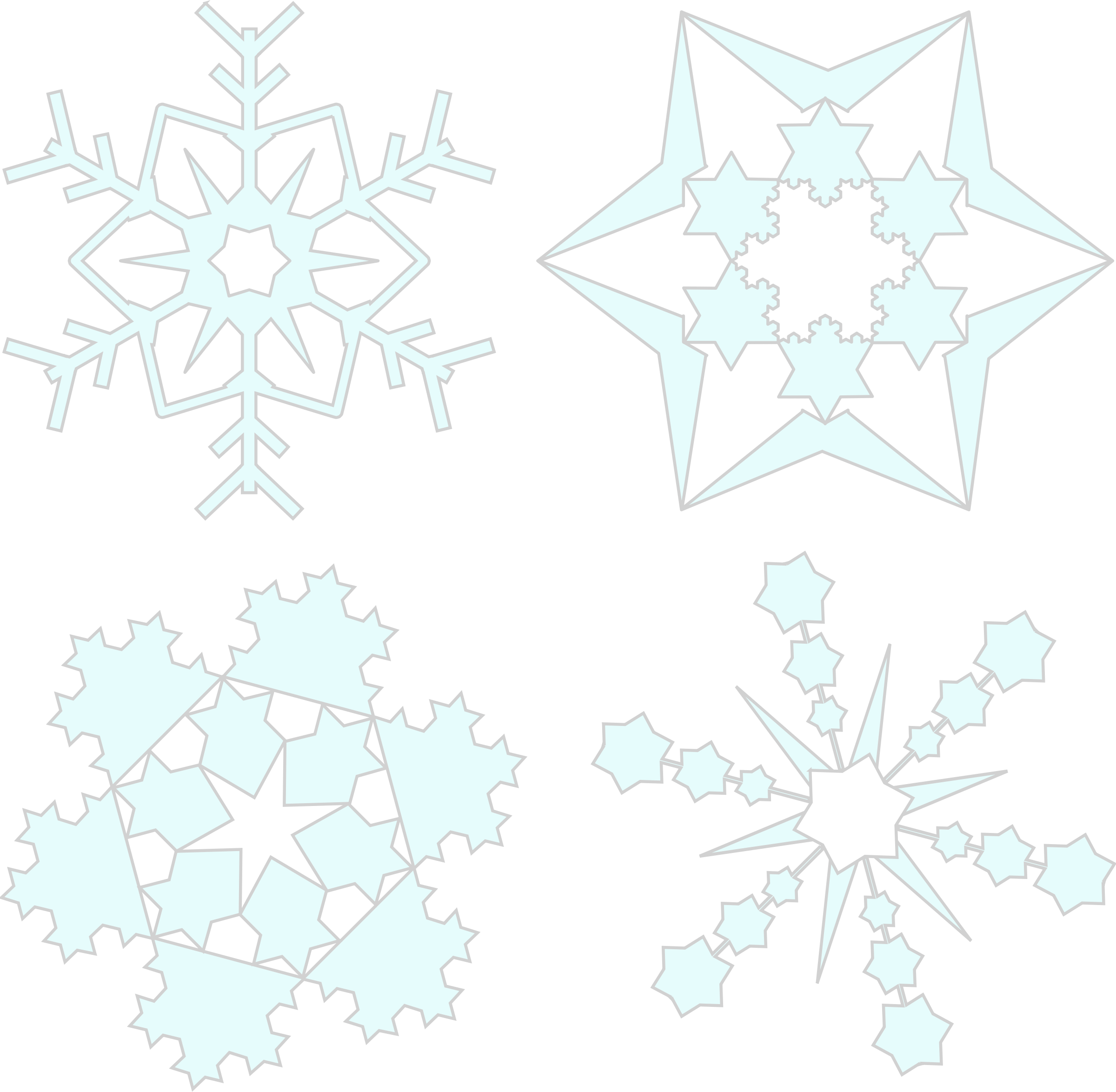 Floating snowflake clipart vector transparent library Lesson Plans and Activities | Backyard Learning vector transparent library