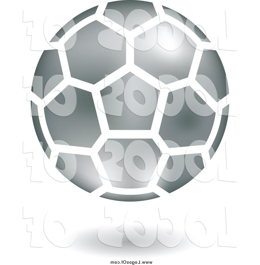 Floating vector clipart image library Top 10 Vector Clipart Of Floating Silver Soccer Ball Logo By Cidepix ... image library
