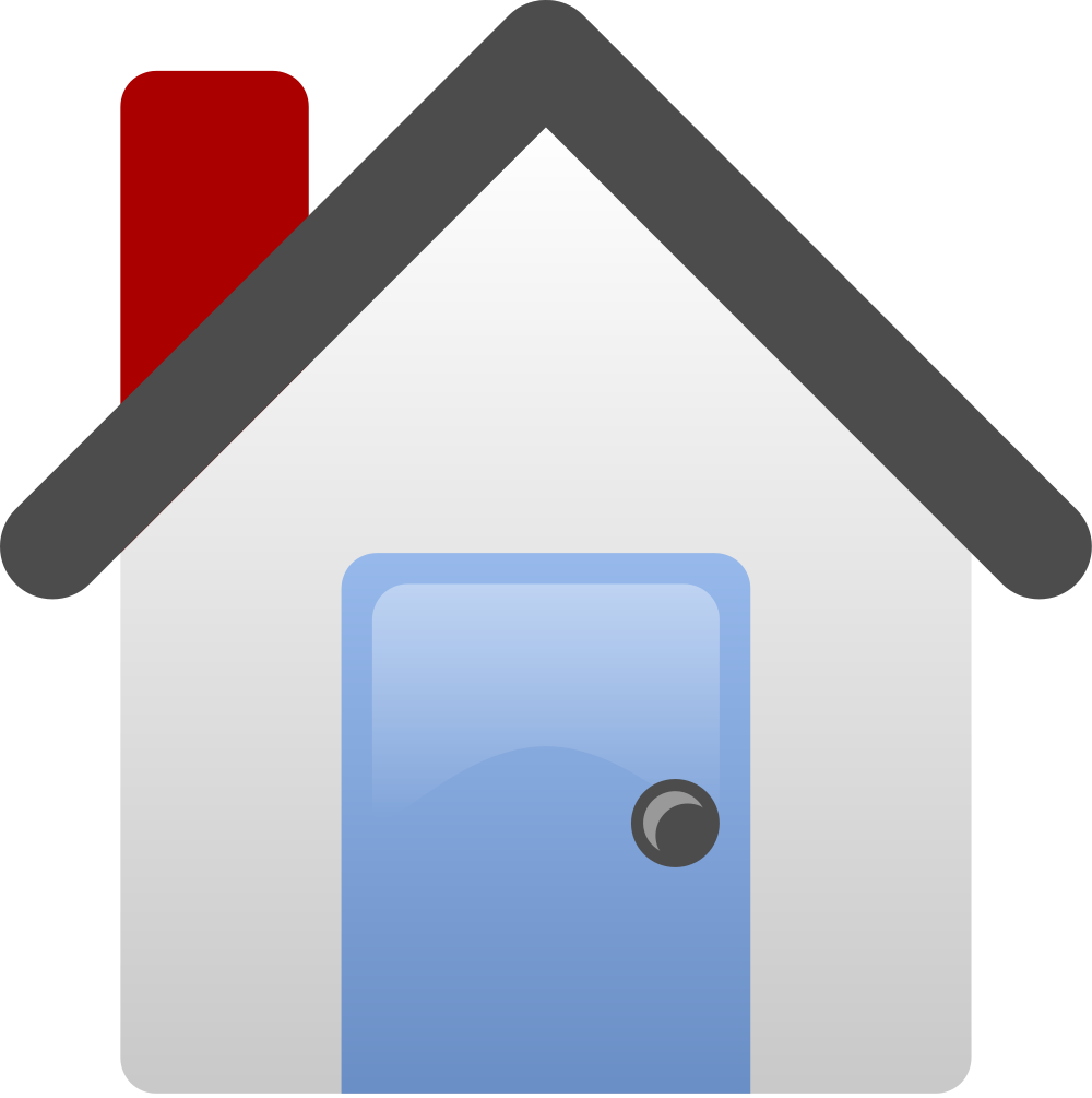 Flooded house clipart