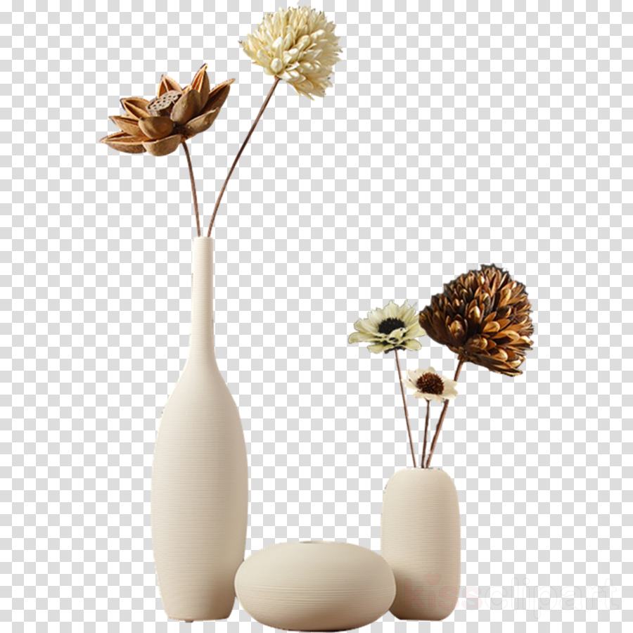 Download decorative flowerpot ceramic. Floor vase clipart