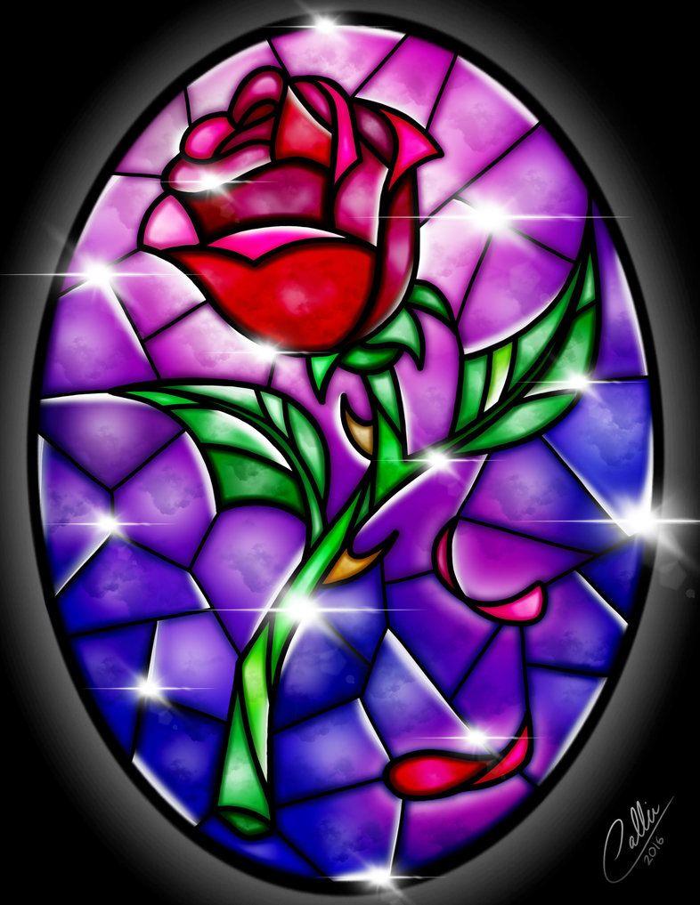 Till the last petal. Flor de la bella y la bestia clipart