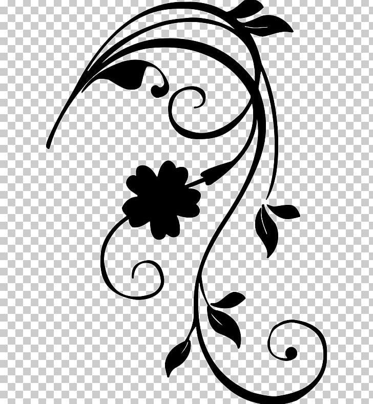 Floral art clipart png stock Black And White Flower PNG, Clipart, Abstract Floral, Art, Artwork ... png stock