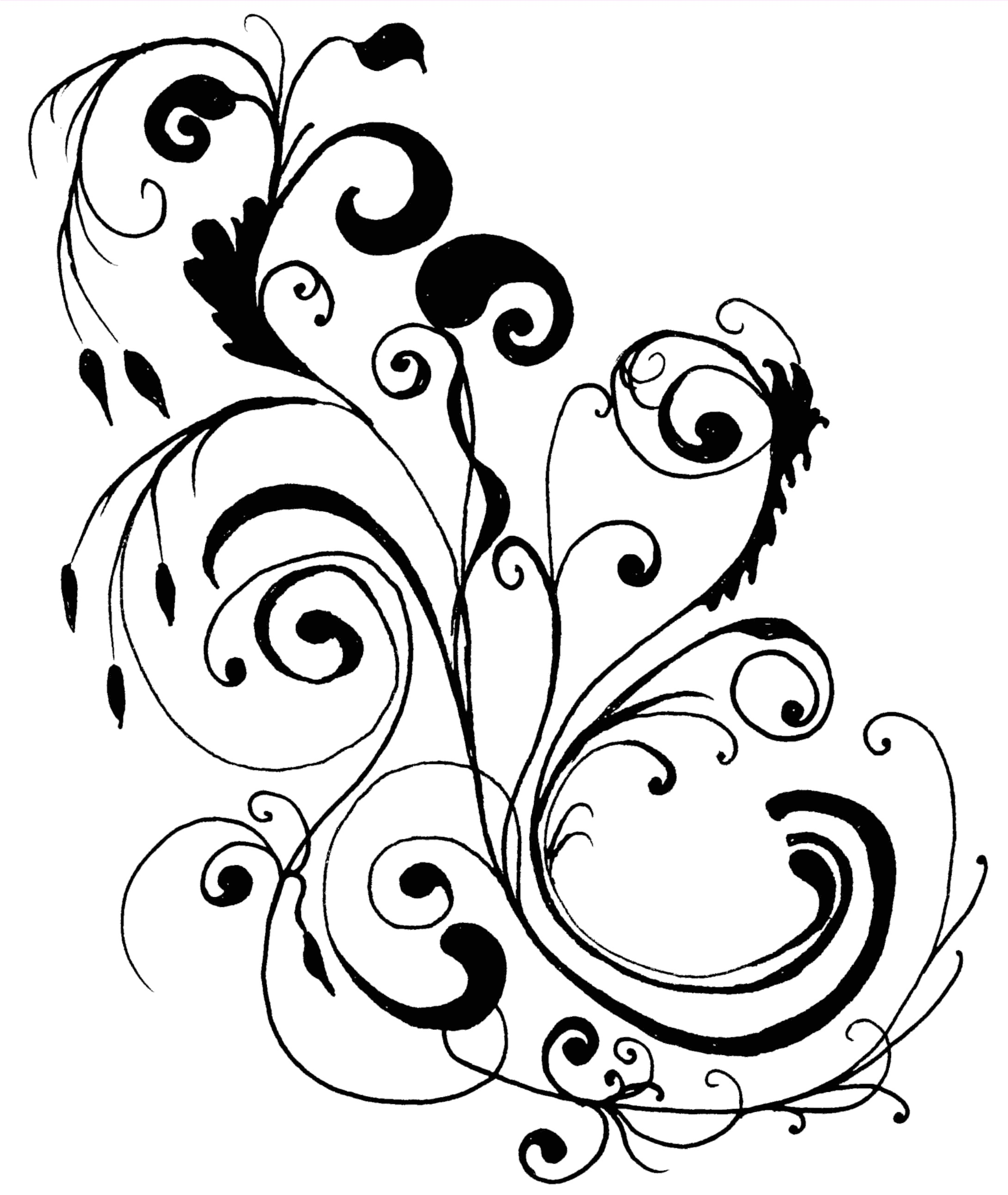 Clipart modern design graphic Free Flower Designing Art, Download Free Clip Art, Free Clip Art on ... graphic