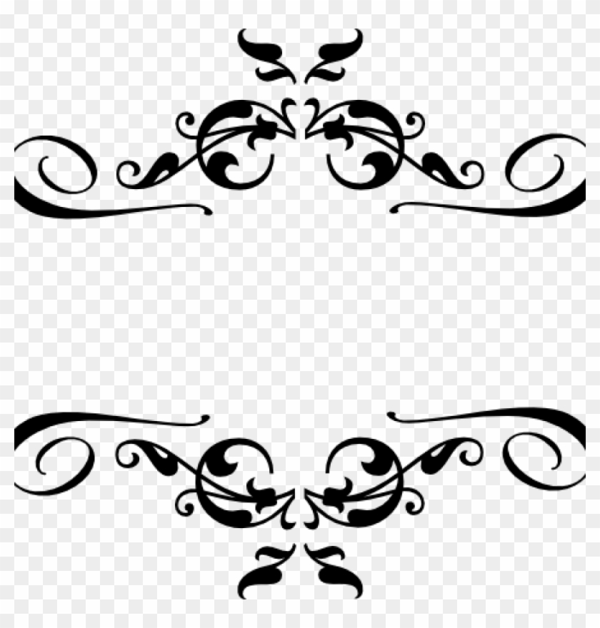 Sun corner border black and white clipart
