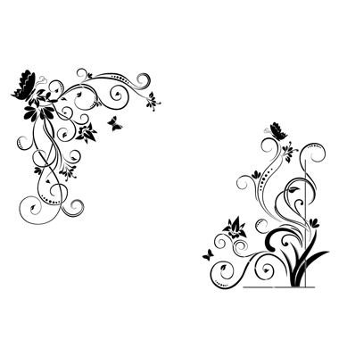 Floral borders free download image black and white library Floral borders free - ClipartFest image black and white library