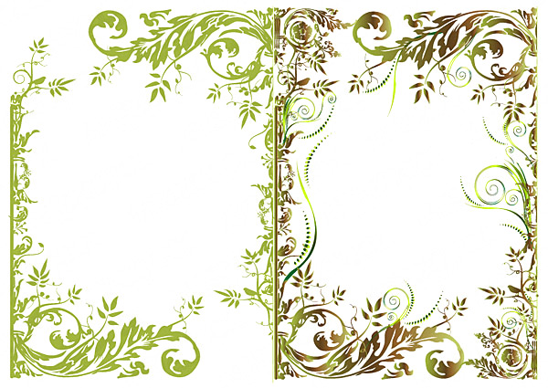 Floral borders free download clipart freeuse stock floral border fashion vector - Vector Frames & Borders free download clipart freeuse stock