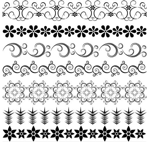 Floral borders free download clip royalty free download Vintage Floral Borders 8 | AI format free vector download ... clip royalty free download