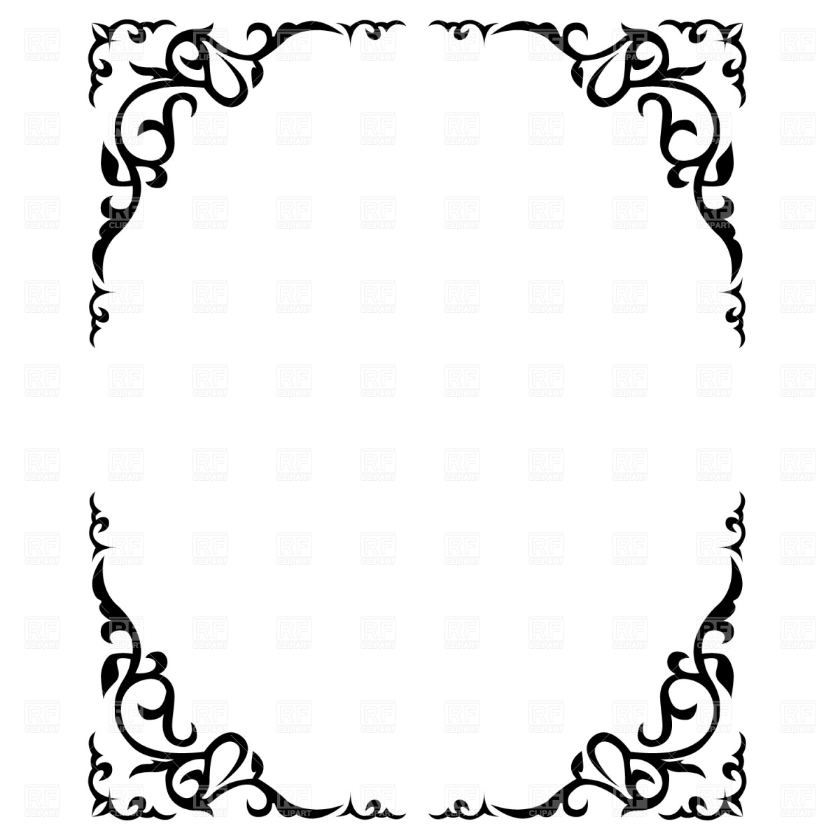 Floral borders free download vector free Floral vector clip art free download - ClipartFest vector free