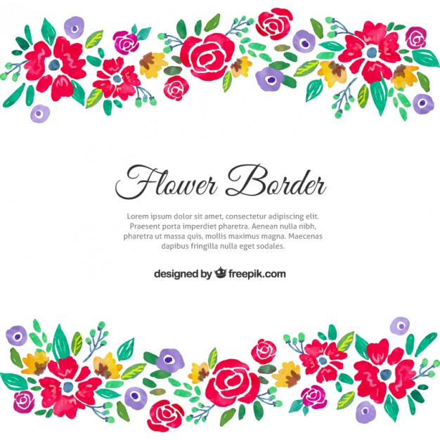 Floral borders free download