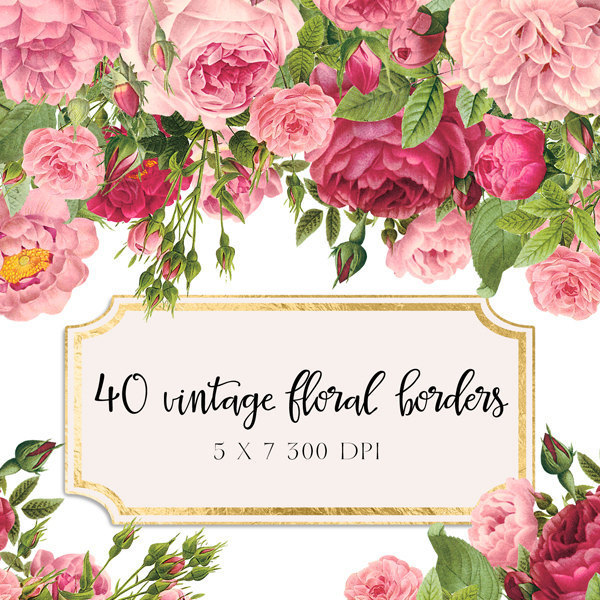 Floral borders images clip freeuse stock Clipart floral borders - ClipartFest clip freeuse stock