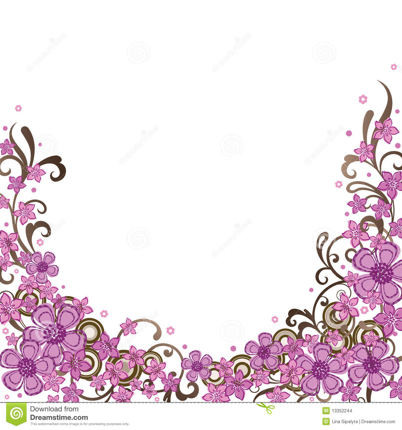 Floral borders images clipart royalty free stock Floral border images - ClipartFest clipart royalty free stock
