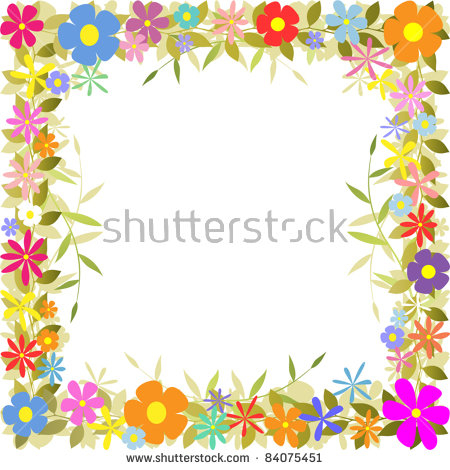 Floral borders images image free download Flower Border Stock Images, Royalty-Free Images & Vectors ... image free download