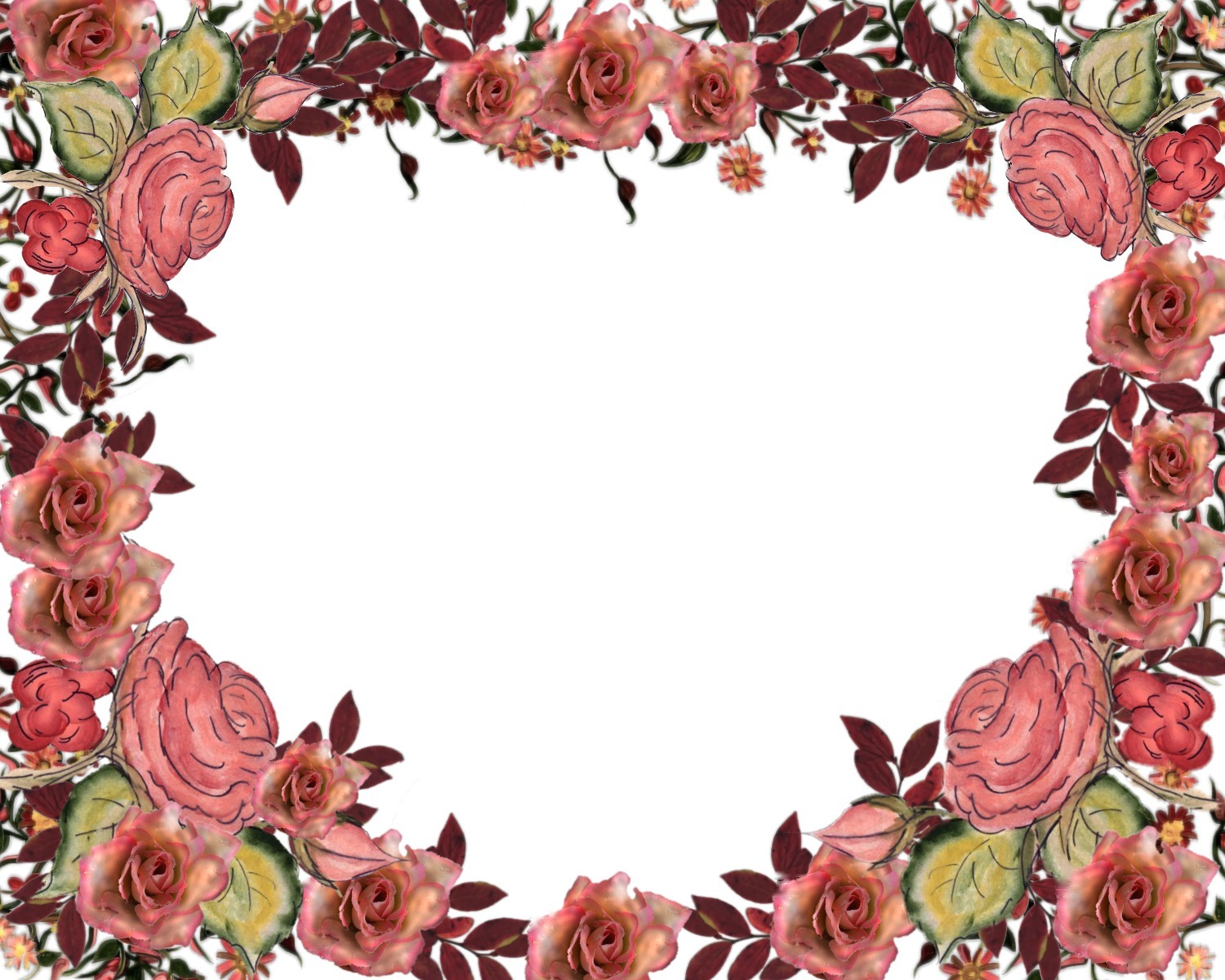 Floral borders images jpg freeuse download 17 Best images about Clipart on Pinterest | Borders and frames ... jpg freeuse download