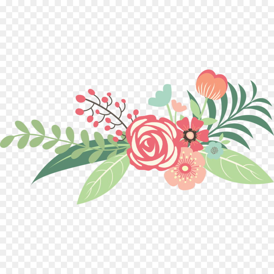 Floral bouquet clipart free png library download Download Free png Flower bouquet Wedding Clip art floral png ... png library download