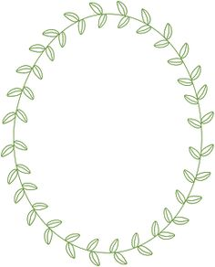 Floral circle arrow clipart image black and white download circle leaf border - Google Search | Chalkboard inspiration ... image black and white download