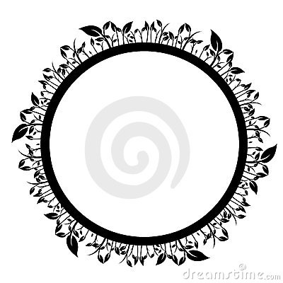 Floral circle arrow clipart clipart transparent Floral Circle Stock Photos - Image: 8907003 clipart transparent