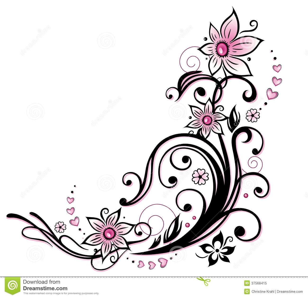 Floral clip art borders freeuse Small flower border clip art - ClipartFest freeuse