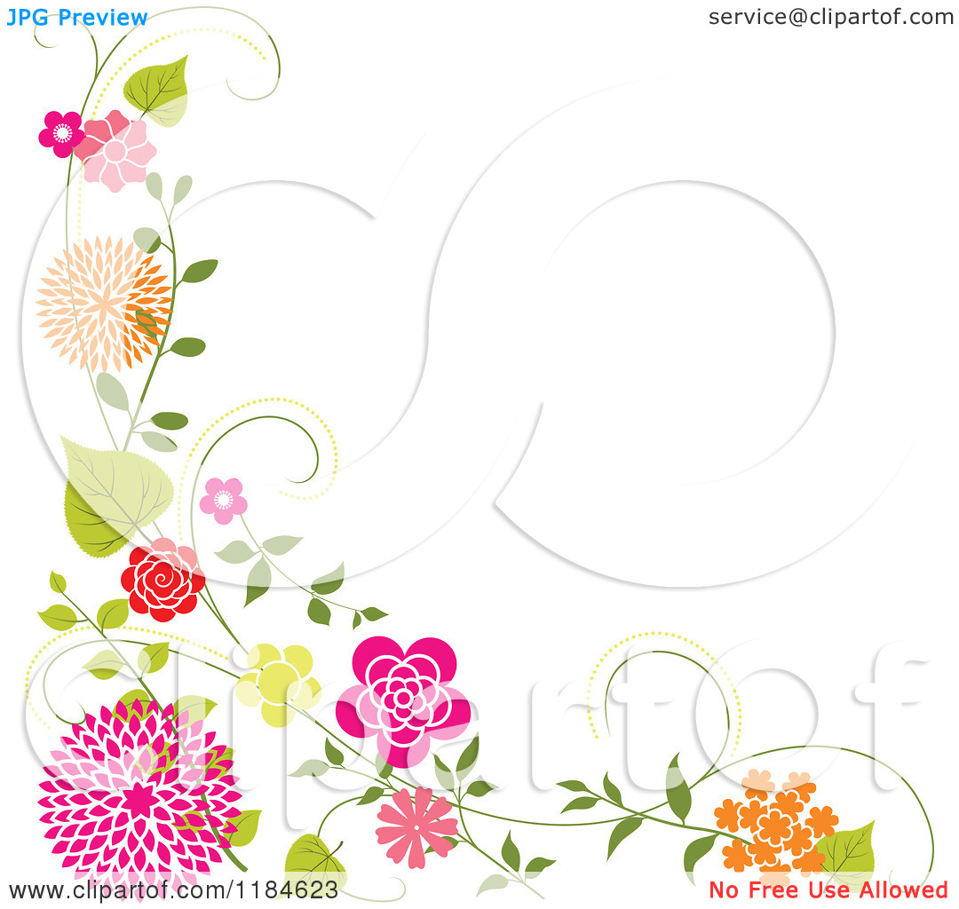 Floral clip art borders clip art library library Free floral clipart borders - ClipartFest clip art library library